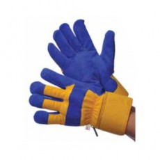 Thermo Lined Split Cowhide Gloves