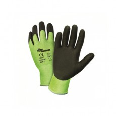 Green HPPE Shell with Black Nitrile Foam Palm Coat